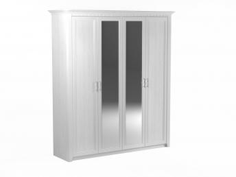 Шкаф 4-х дверный клер