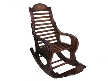 Кресло-качалка из массива